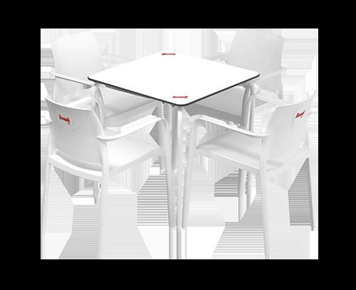 Mesas de café Buondi para cafeterias