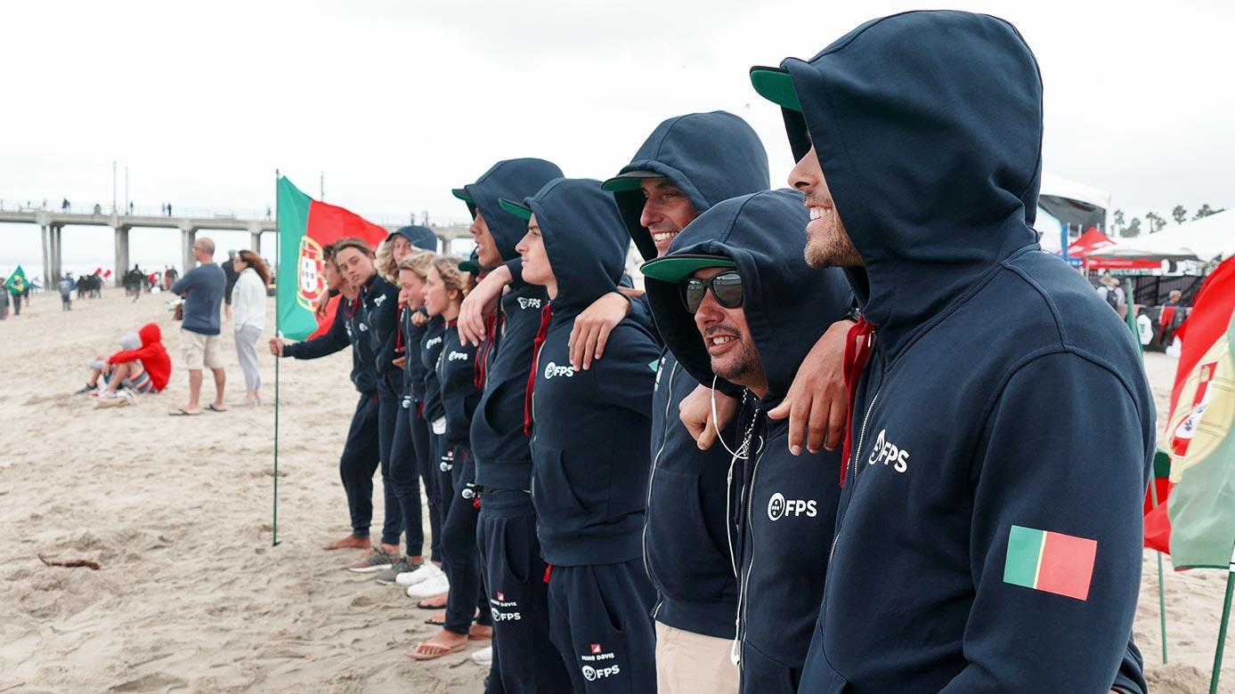 Seleção Portuguesa de surf na areia