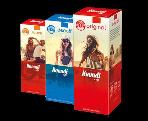 Produtos de café para escritório Buondi