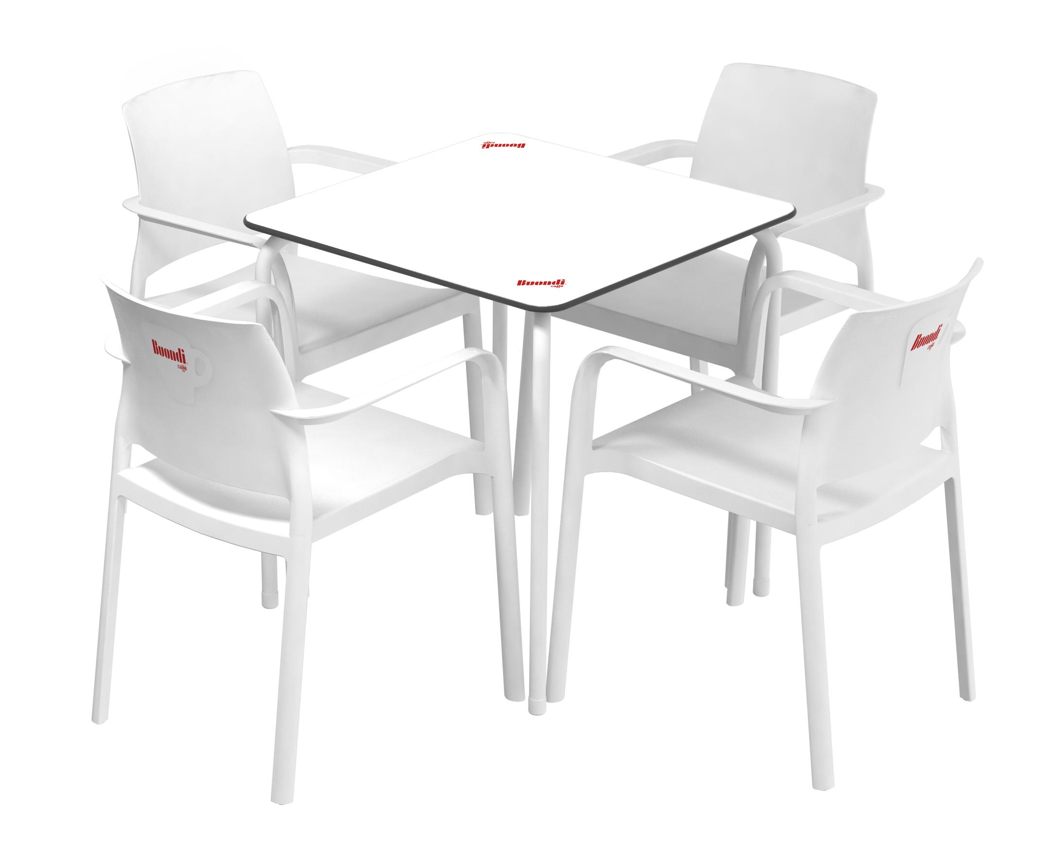 Mesas e Cadeiras 100% Recicláveis