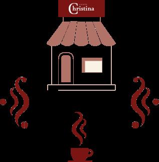 Quer abrir um café CHRISTINA?