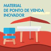 Material de ponto de venda inovador