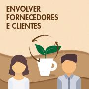 Envolver fornecedores e clientes